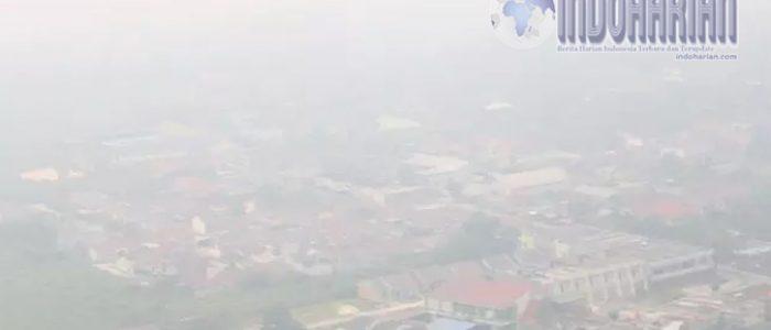 Dampak Kabut Asap, 16 Ribu Warga Riau Positif ISPA