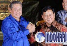 Jajaki Koalisi, Prabowo Bertemu Dengan SBY