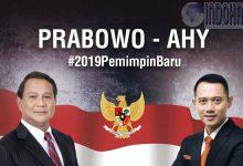 Prabowo Bersanding Dengan AHY, Pasangan Kuat #2019GantiPresiden