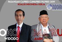 Kemenangan Koalisi Kerja, Ma'ruf Amin Dampingi Jokowi Pilpres!