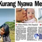 Kematian Bayi Debora, Ibu Debora: Semoga Peristiwa Ini Tidak Terulang Pada Anak Lain