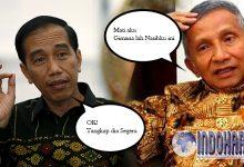 Mampos!! Hujatan Amien Terhadap Jokowi Bikin Masuk Jeruji besi
