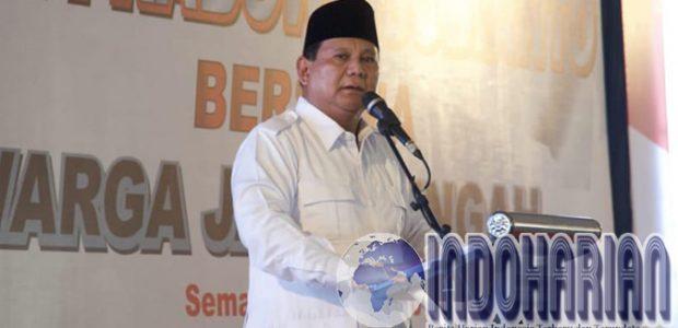 Berusaha Menang Pilpres, Prabowo Pimpin Rapat Koalisi!