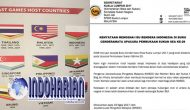 Permalink to Malaysia Minta Maaf, Terkait Bendera Indonesia Terbalik Di SEA Games
