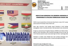 Malaysia Minta Maaf, Terkait Bendera Indonesia Terbalik Di SEA Games