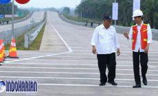 Permalink to Presiden RI Jokowi Targetkan Tol Sigli-Banda Aceh Beroperasi