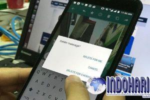 Beberapa Trik Untuk Menghapus Pesan di WhatsApp