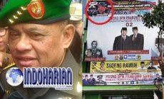 Permalink to Fotonya Terpasang Di Baliho, TNI Gatot Ngamok!!!