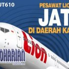 Detik-Detik Jatuhnya Pesawat Lion Air JT610