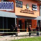 Daya Ledak Bom UNRI Setara Bom Gereja di Surabaya