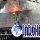 Hotel Berbintang Jambi Terbakar
