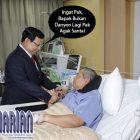 """Bapak Bukan Danyon Lagi"", Pesan Prabowo Kepada SBY. Begini Keadaan SBY"