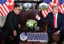 Pertemuan Bersejarah Kim-Trump Tukar Undangan