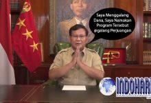 HEBOH!! Prabowo Galang Donasi?? Ini Alasannya