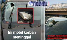 Permalink to PARAH!! Mobil Dilempari Batu di Tol Cikampek