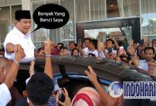 APA?? Prabowo Dibenci?? Ini Tanggapannya