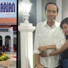 Jokowi Dipeluk Gadis Cantik? Kok bisa?