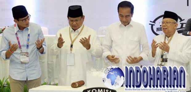 Jokowi Pilpres Adu Prestasi, Prabowo Pilpres Sejuk Damai