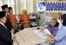 Jokowi dan JK Jenguk SBY Meskipun Sedang Sibuk