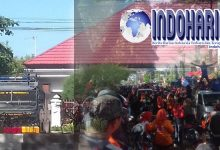 Kepolisian Mensiagakan 2 Watercanon Dikantor PTTUN Makassar