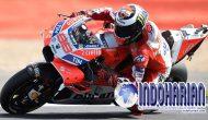 Permalink to Lorenzo Pimpin MotoGP, Rossi Berada di Posisi ke 18