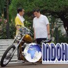 Beginilah Pembahasan Motor Chopper Jokowi Oleh Airlangga di Istana Bogor