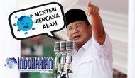 Permalink to Prabowo Bentuk Kementrian Penanganan Bencana Kalau Jadi Presiden