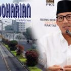 Pekerjaan Trotoar Sudirman-Thamrin Pakai Bandung Bondowoso Style