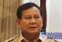 Perkataan Maaf Prabowo Usai Sebut 'Tampang boyolali'