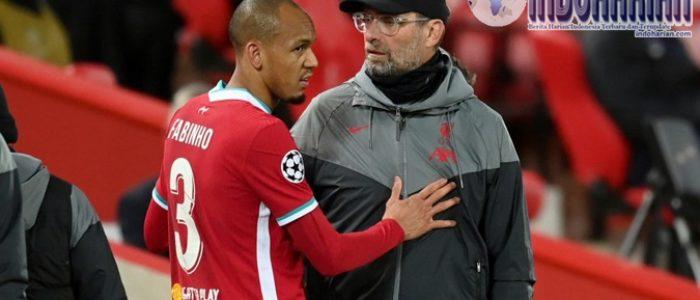 Fabinho Cedera Dan Diperkirakan Tidak Akan Membela Liverpool