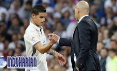 Permalink to Zidane: James Jarang Dimainkan, Ini Sebabnya