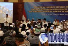Membahas PONPES, Jokowi Singgung RUU Pesantren Bersama Ulama