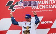 Permalink to Finish Ketujuh, MotoGP Valencia Sebut Joan Mir Sang Juara…