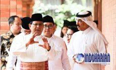 Permalink to Bahas Habib Rizieq, Prabowo Terima Kunjungan Dubes Saudi