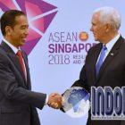 MENGUNTUNGKAN!! Pertemuan Bilateral Jokowi Dengan Wapres AS