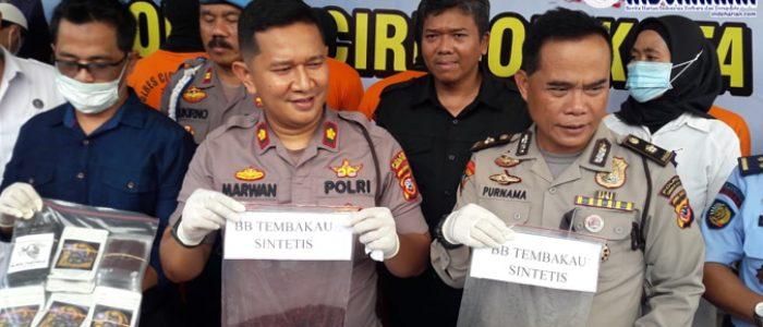 HEBAT!! Polisi Ungkap Penjual Tembakau Gorila
