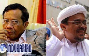Permalink to Mahfud Tantang Habib Rizieq Tunjukan Bukti Pencekalannya