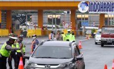 Permalink to Demi Mencegah Penyebaran Corona, Polisi Sekat Jalanan Ini