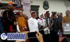 Permalink to Sekitar Ratusan Umat Buddha Peduli Rohingya Mengikuti Aksi Penggalangan Dana