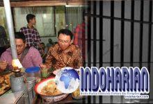 Di Balik Jeruji Besi, Ahok Nikmati Makanan Kiriman