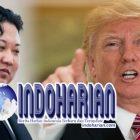 Trump Sebut Kim Jong Un Manusia Roket