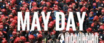 Ngeri!! Jelang May Day, 20ribu Buruh Nyambangi Istana Presiden