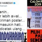 Viral!!! Cuitan Fahri Hamzah Perbandingan Capres 2019