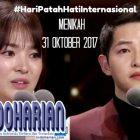 Menikah 31 Oktober 2017, Indonesia Heboh #HariPatahHatiInternasional