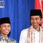 Cara Praktis Jokowi Berinteraksi Dengan Para Santri, Hanya Melalui