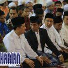 Cari Simpatik?? Jokowi Salat Id di Masjid Istiqlal