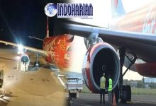Masalah Ari Asia Kembali Terulang, Pesawat Mendarat Darurat Mesin Terbakar