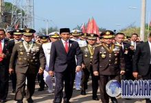 Terjebak Macet, Jokowi Berjalan Kaki Sejauh 3 Km Menuju Lokasi Ini