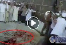 Medsos Dihebohkan Lantai Kakbah Berdarah, Pertanda Apa Ini???