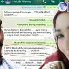 Polisi Berhasil Usut Penyebar Chat Seks Rizieq-Firza?